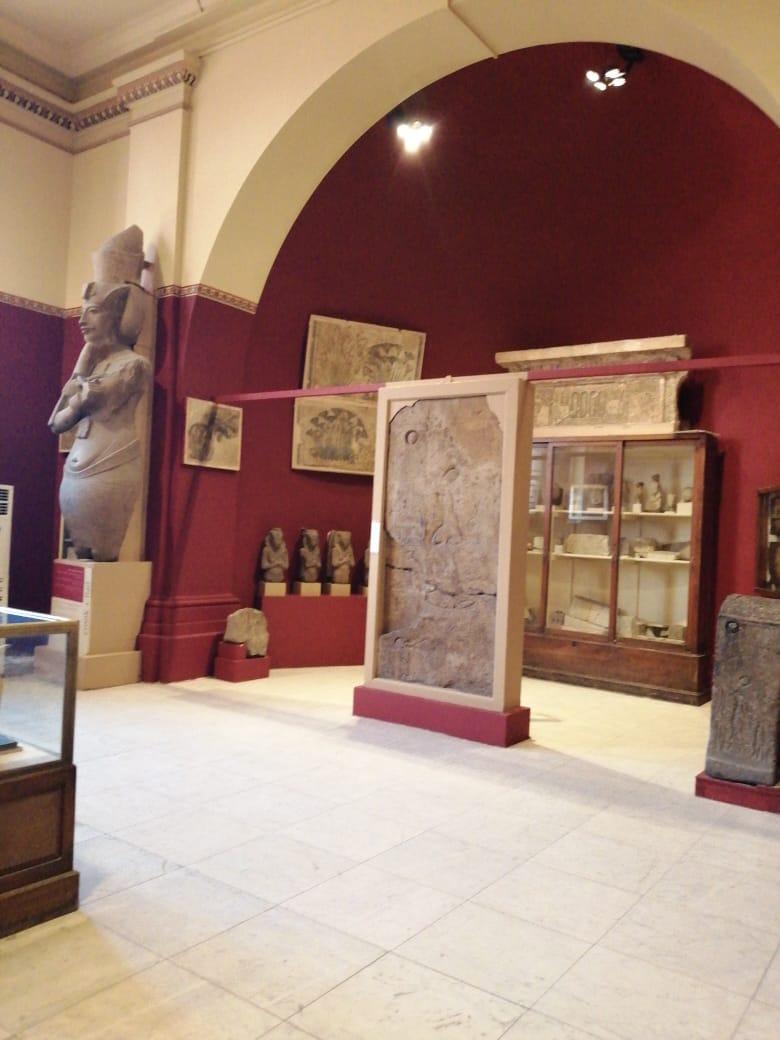 جانب من أعمال تطوير المتحف المصرى بالتحرير (3)