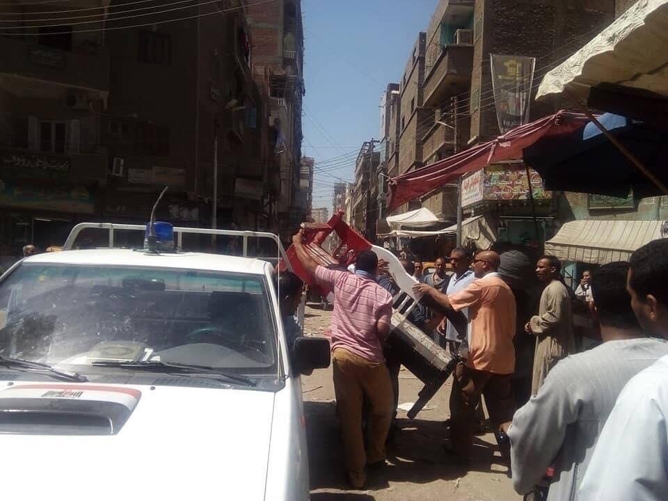 حملات اشغالات بمراكز سوهاج (3)