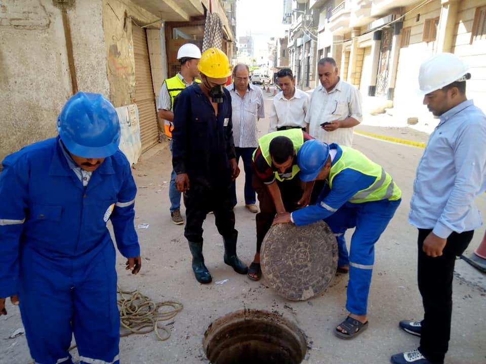 تطهير وتسليك غرف الصرف وصفايات الأمطار (3)