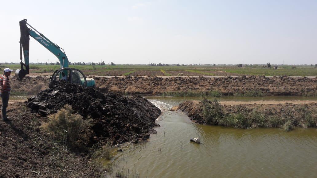 تطهير 165 فدانا من المزارع السمكية المخالفة بجنوب بورسعيد (7)