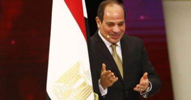 الرئيس عبد الفتاح السيسى خلال حديثه فى مؤتمر الشباب