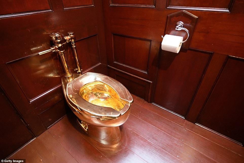 المرحاض الذهبى المسروق (1)