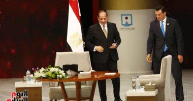 الرئيس عبد الفتاح السيسى خلال مؤتمر الشباب