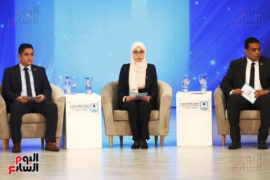 المحاضرون بجلسة مؤتمر الشباب