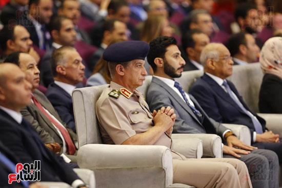 الفريق اول محمد ذكى وزير الدفاع