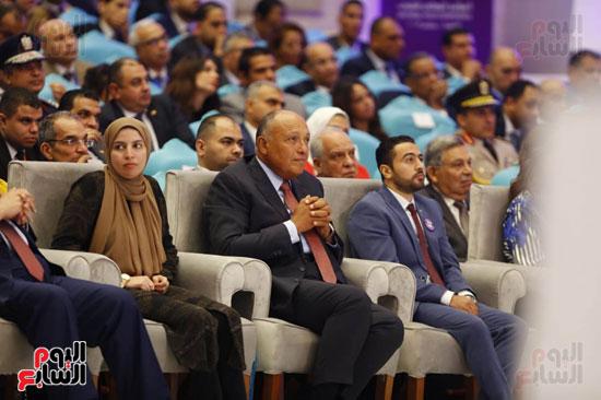 جانب من الحضور بمؤتمر الشباب