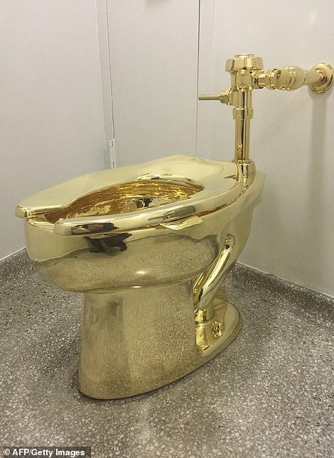 المرحاض الذهبى المسروق (2)