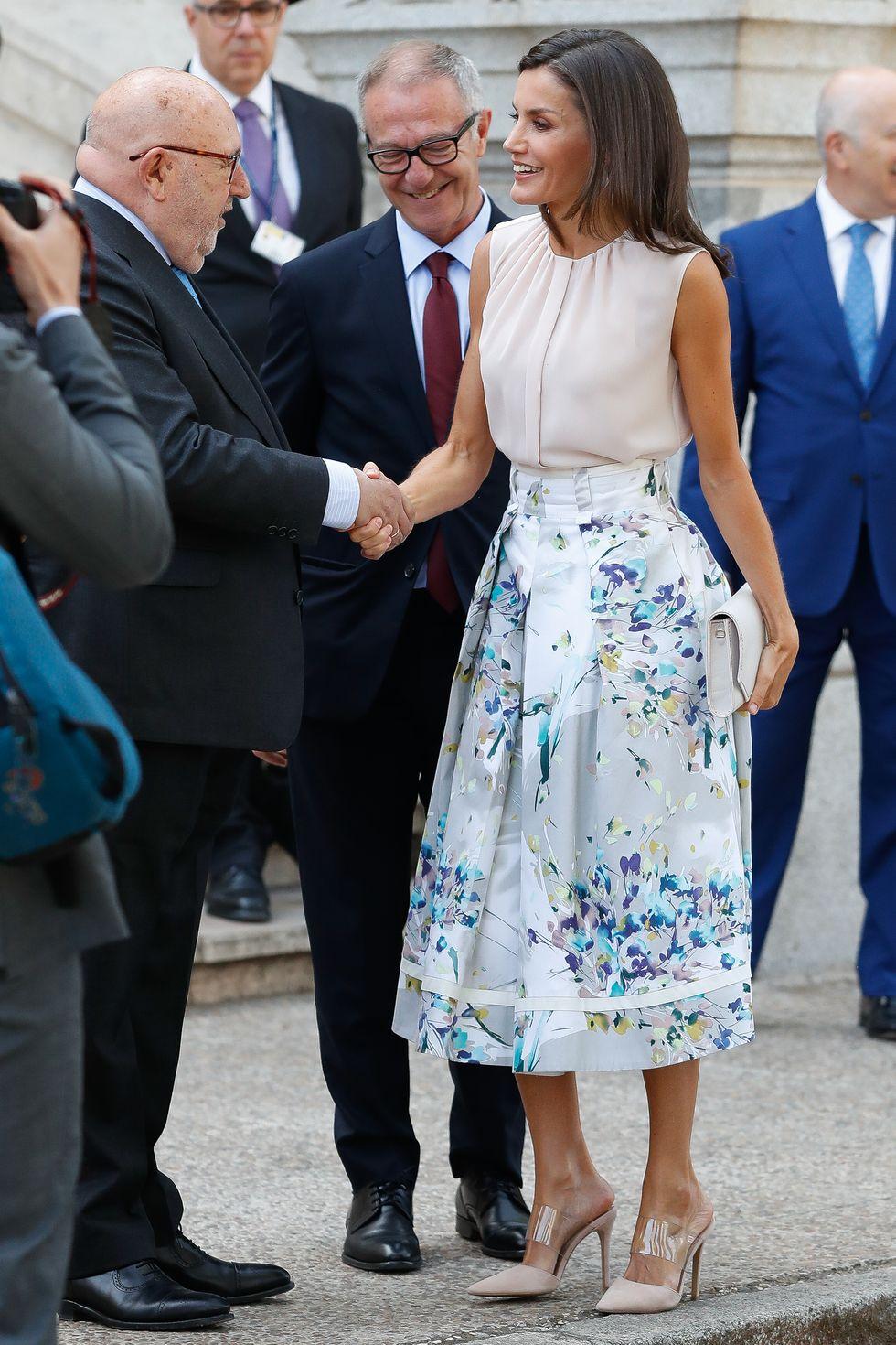 البساطة اهم ما يميز ملكة اسبانيا