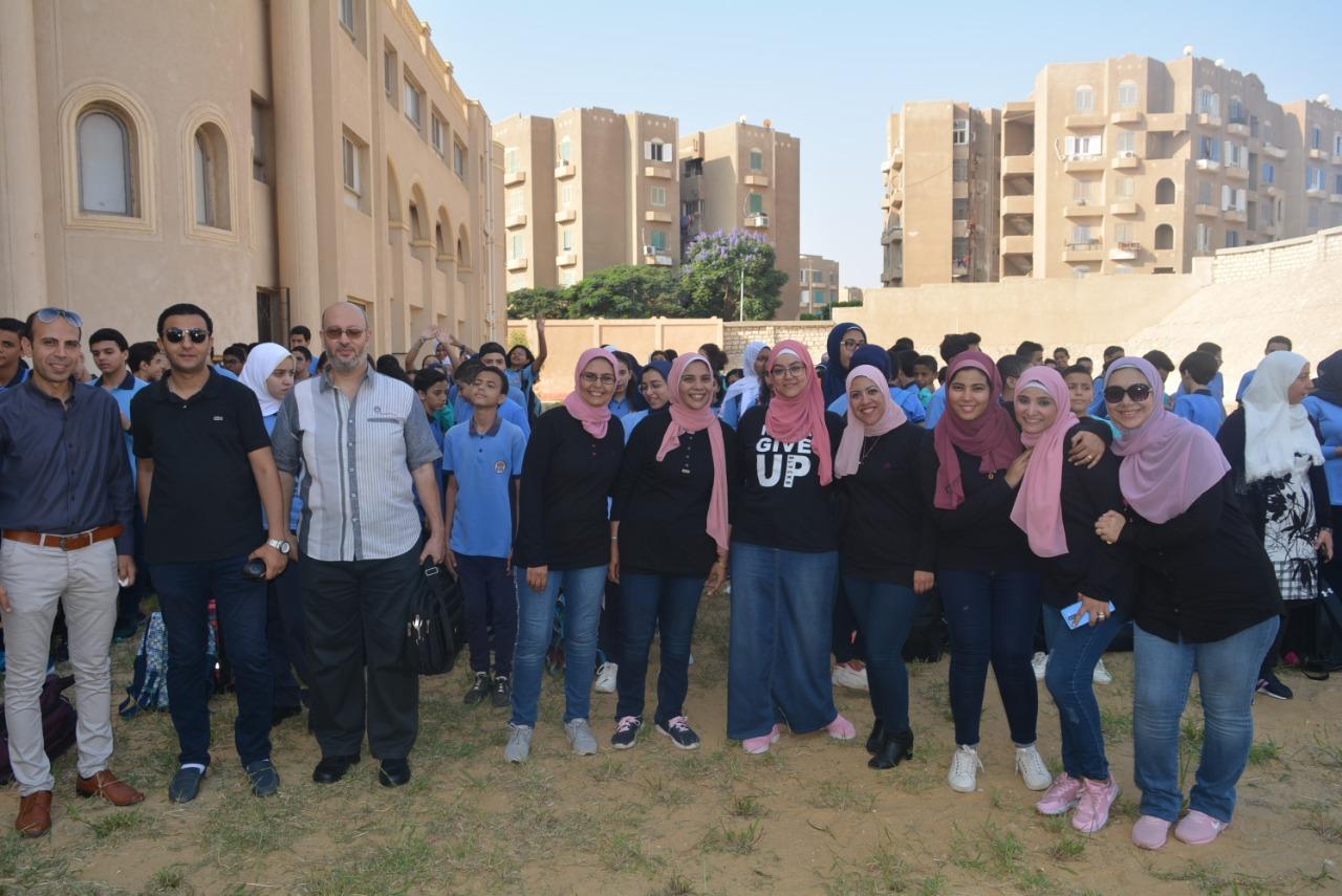 انطلاق العام الدراسى بمدرسة البكالوريا الدولية الحكومية (2)