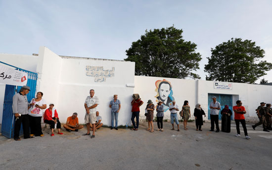 المصوتين-فى-الانتخابات-التونسية
