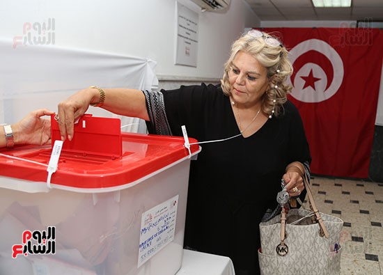 الانتخابات التونسيه الرئاسيه بالقاهره (1)