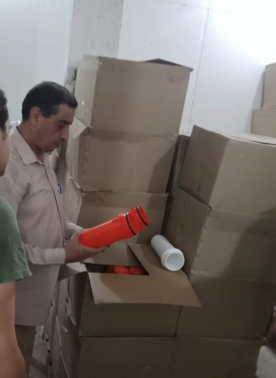 ضبط فلاتر مياه مقلدة بمصنع بدون ترخيص (3)