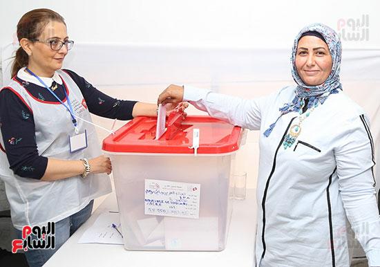 التونسيون-بمصر-ينتخبون-رئيسهم-(4)