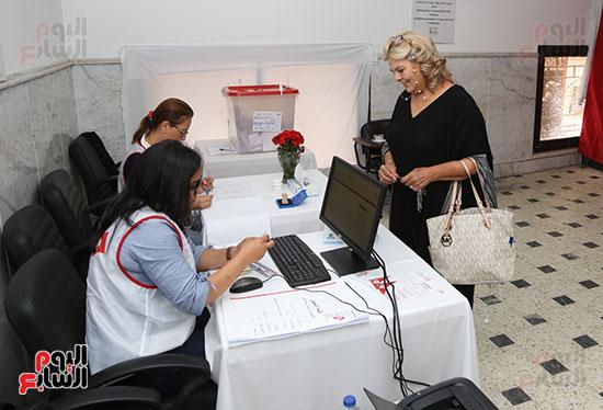 الانتخابات التونسيه الرئاسيه بالقاهره (2)