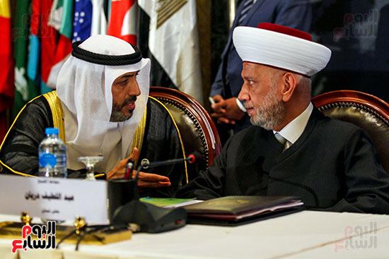 الجلسة الافتتاحية لمؤتمر فقه بناء الدول برؤية عصرية  (14)