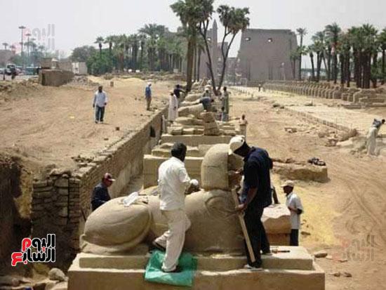 مشروع-إحياء-طريق-الكباش-العالمي-يتخذ-خطوات-جادة--(16)