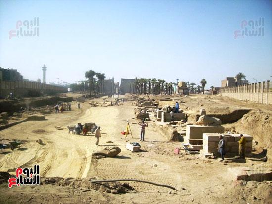مشروع-إحياء-طريق-الكباش-العالمي-يتخذ-خطوات-جادة--(12)