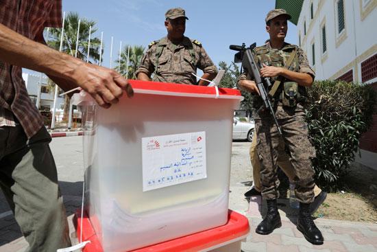 صناديق الاقتراع فى تونس
