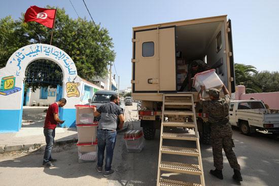 استعدادات الانتخابات الرئاسية فى تونس