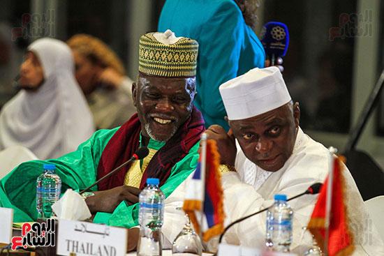 الجلسة الافتتاحية لمؤتمر فقه بناء الدول برؤية عصرية  (1)