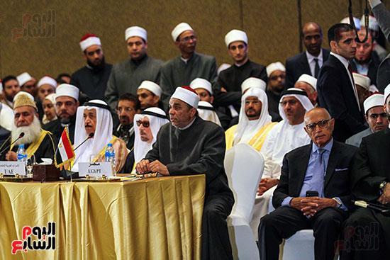الجلسة الافتتاحية لمؤتمر فقه بناء الدول برؤية عصرية  (22)