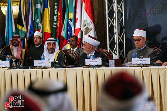 الجلسة الافتتاحية لمؤتمر فقه بناء الدول برؤية عصرية  (17)