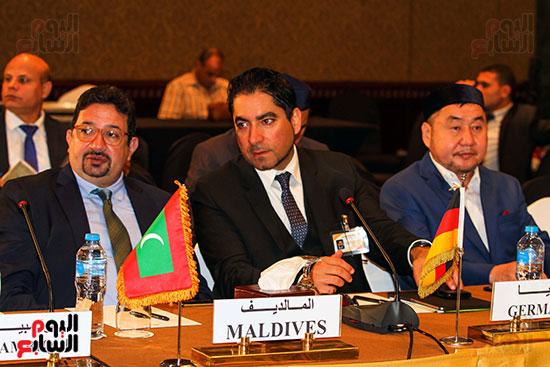 الجلسة الافتتاحية لمؤتمر فقه بناء الدول برؤية عصرية  (11)