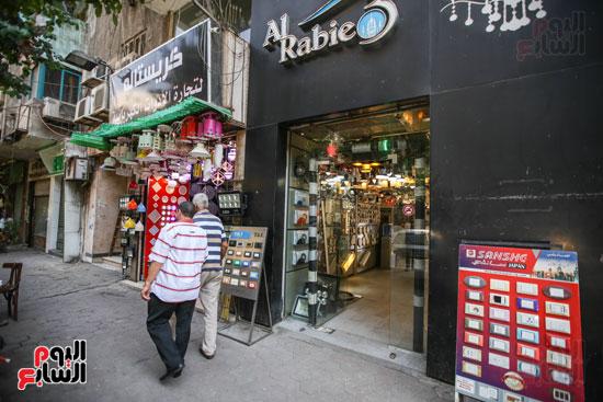 درب البرابرة  أشهر محلات بيع النجف