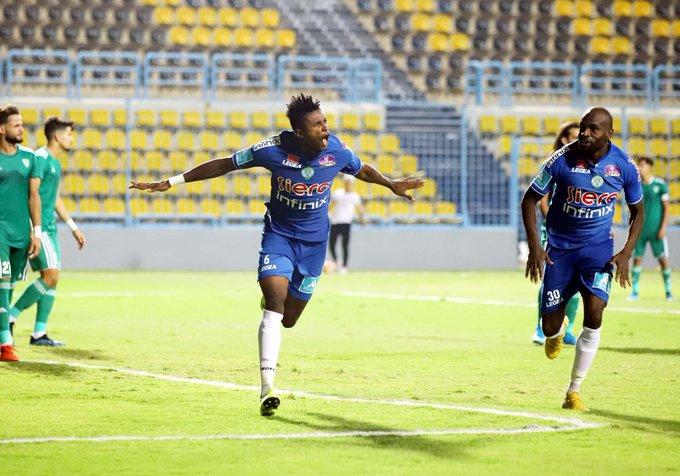 مباراة الرجاء والنصر الليبي
