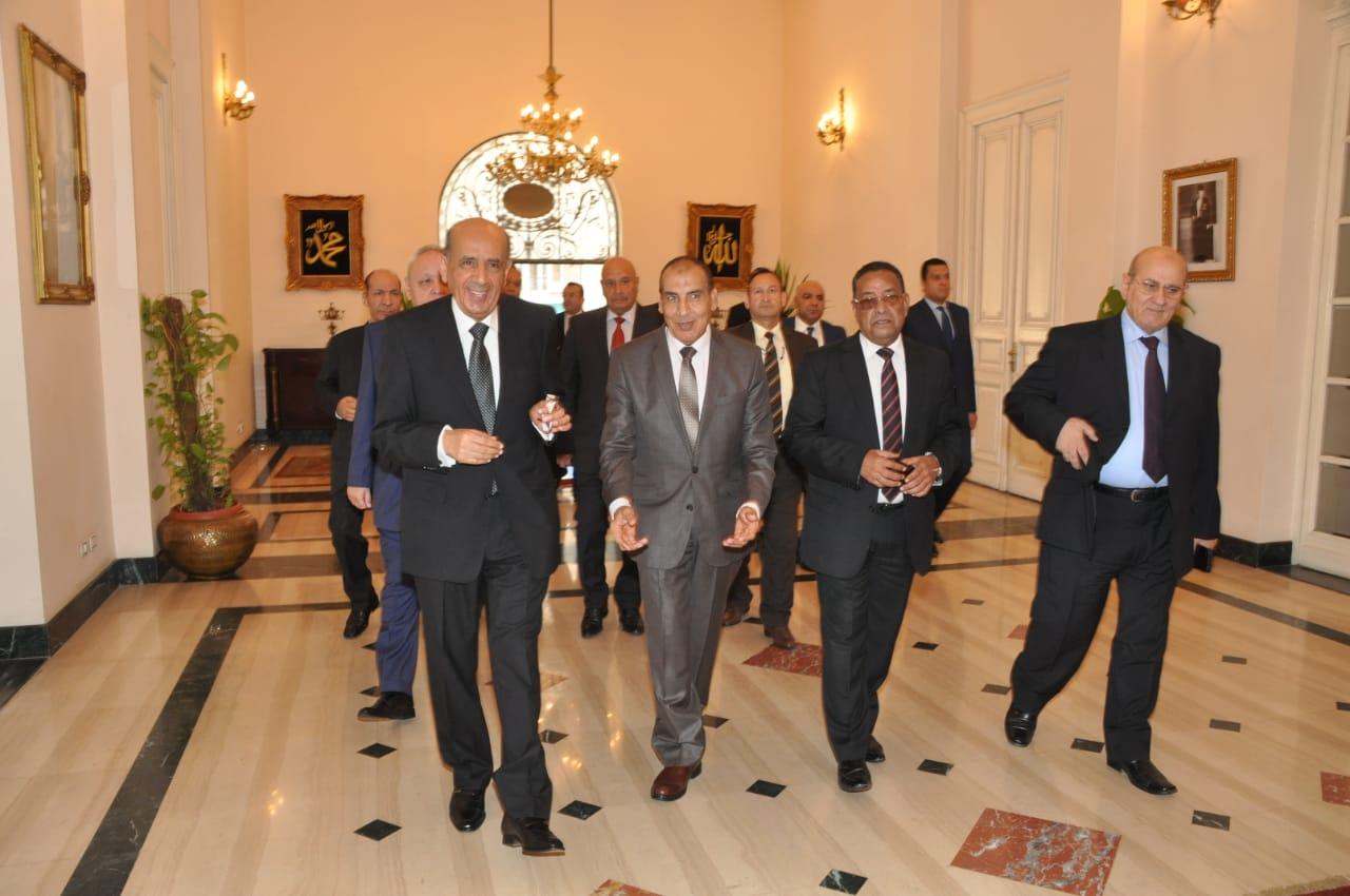 رئيس مجلس الدولة يصل قصر الاميرة فوقية (8)