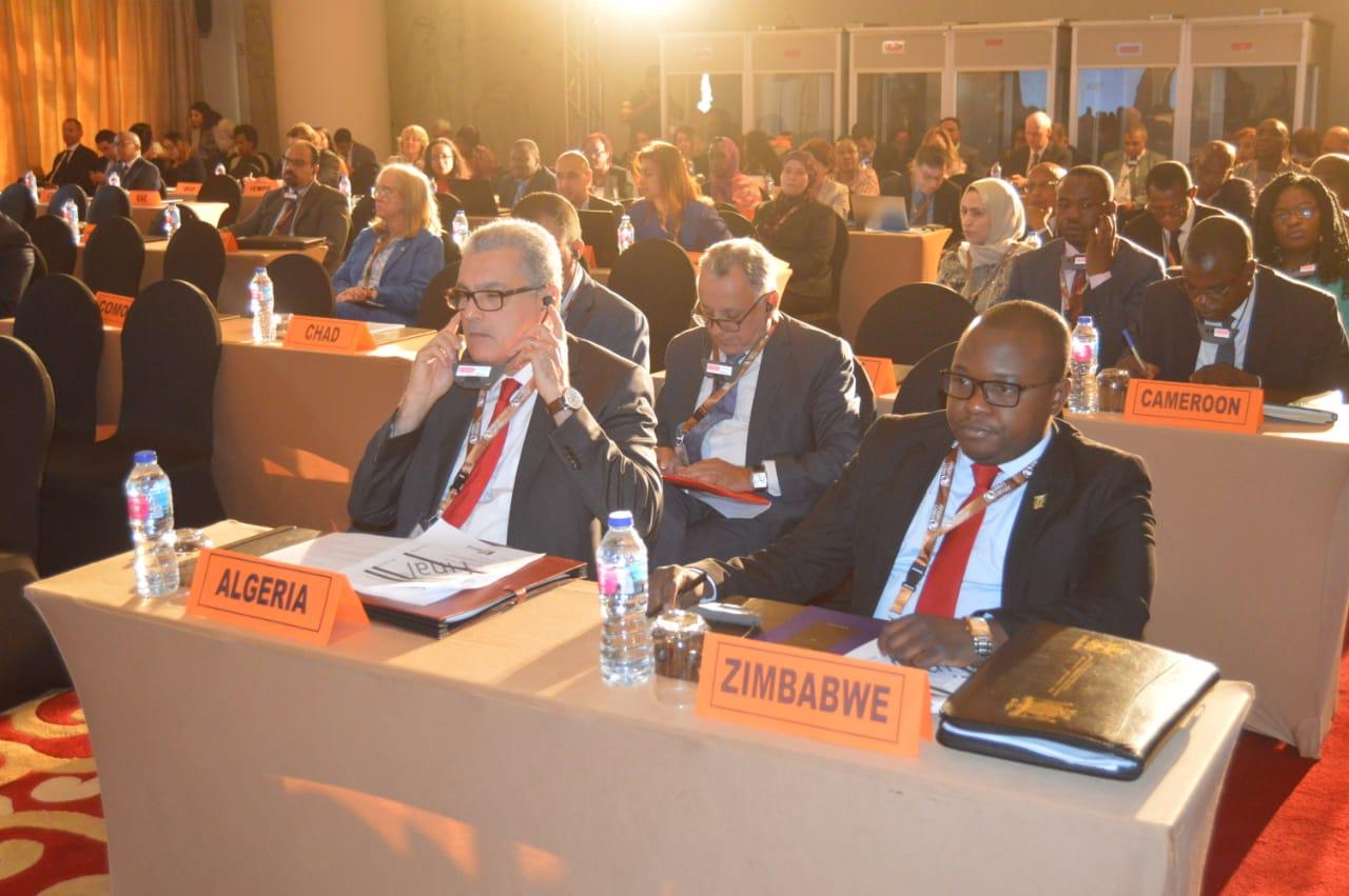 الحضور خلال الاجتماع الوزارى الأفريقى حول الهجرة