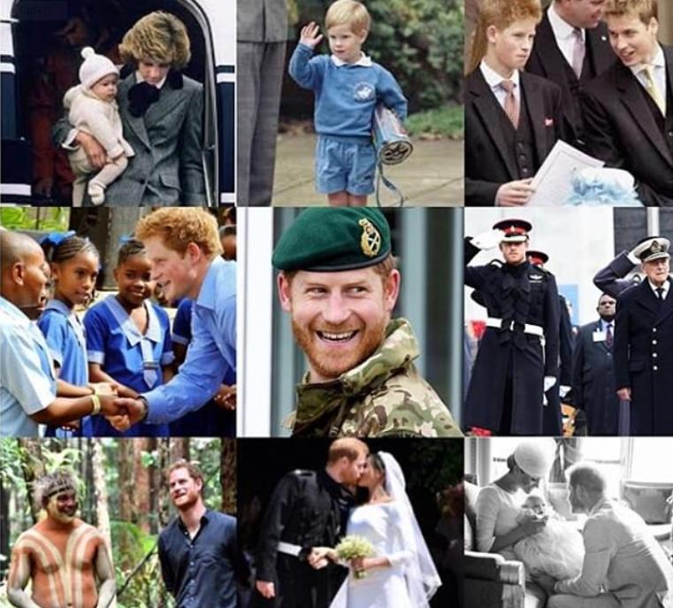 عيد ميلاد الأمير هارى