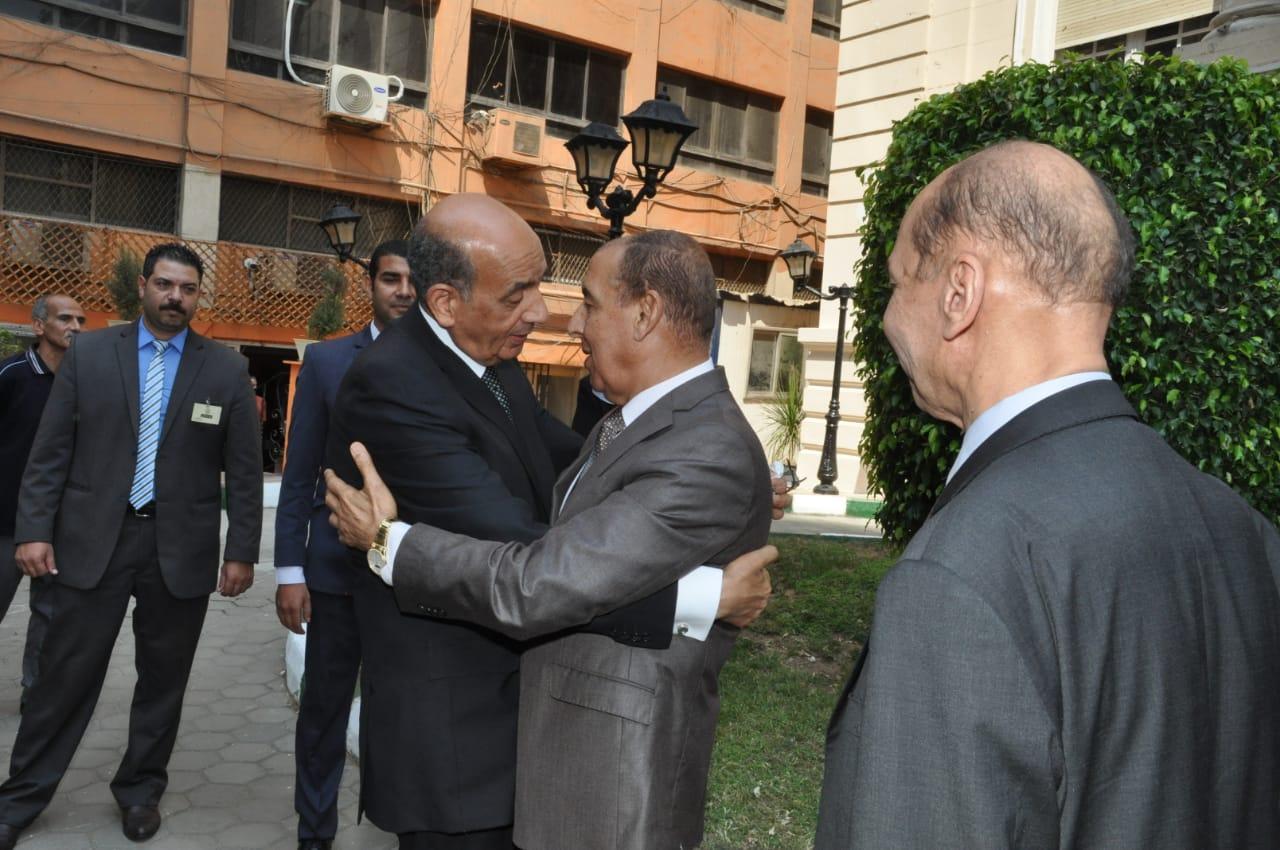رئيس مجلس الدولة يصل قصر الاميرة فوقية (5)