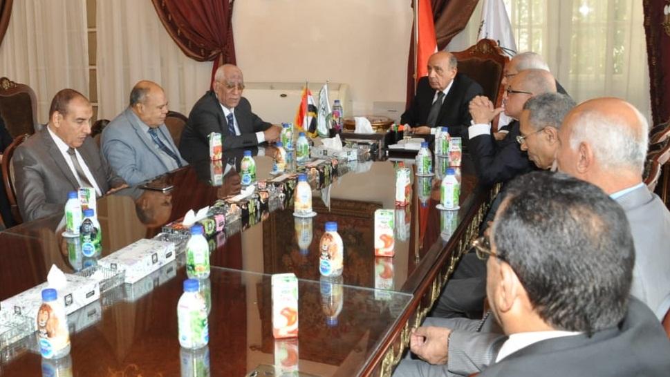 رئيس مجلس الدولة يصل قصر الاميرة فوقية (7)