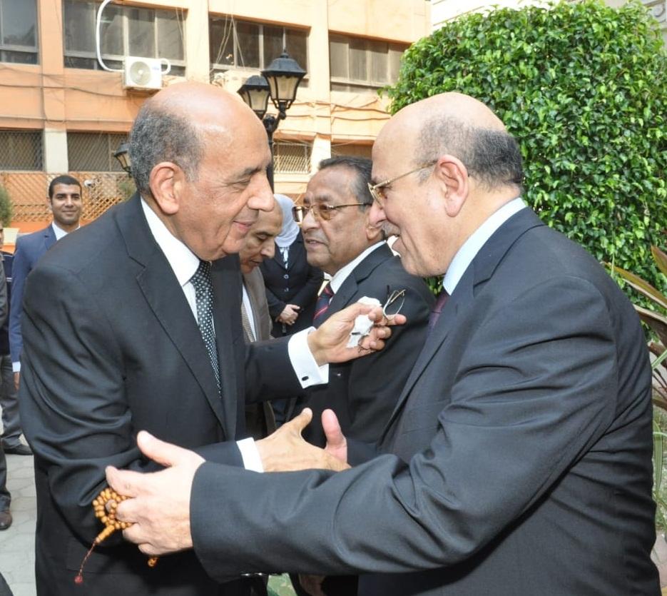 رئيس مجلس الدولة يصل قصر الاميرة فوقية (9)