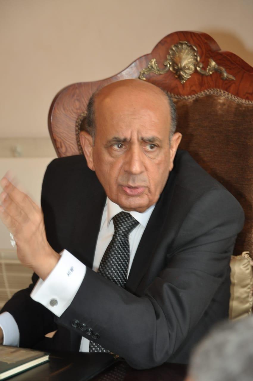 رئيس مجلس الدولة يصل قصر الاميرة فوقية (2)