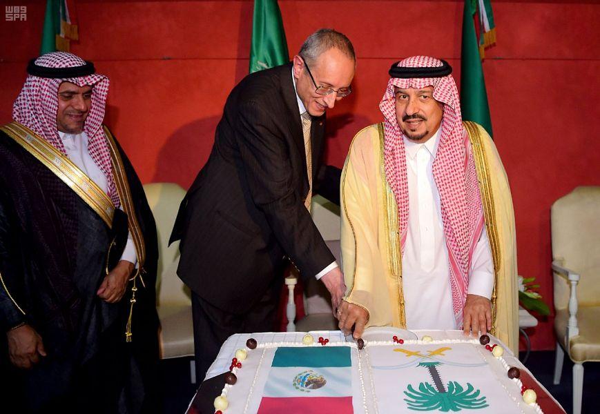 أمير الرياض يشارك فى الاحتفالات