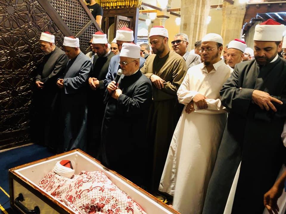 جنازة الدكتور سعد جاويش  (1)