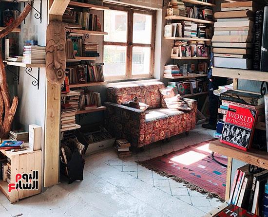 غرفة-فى-المكتبة