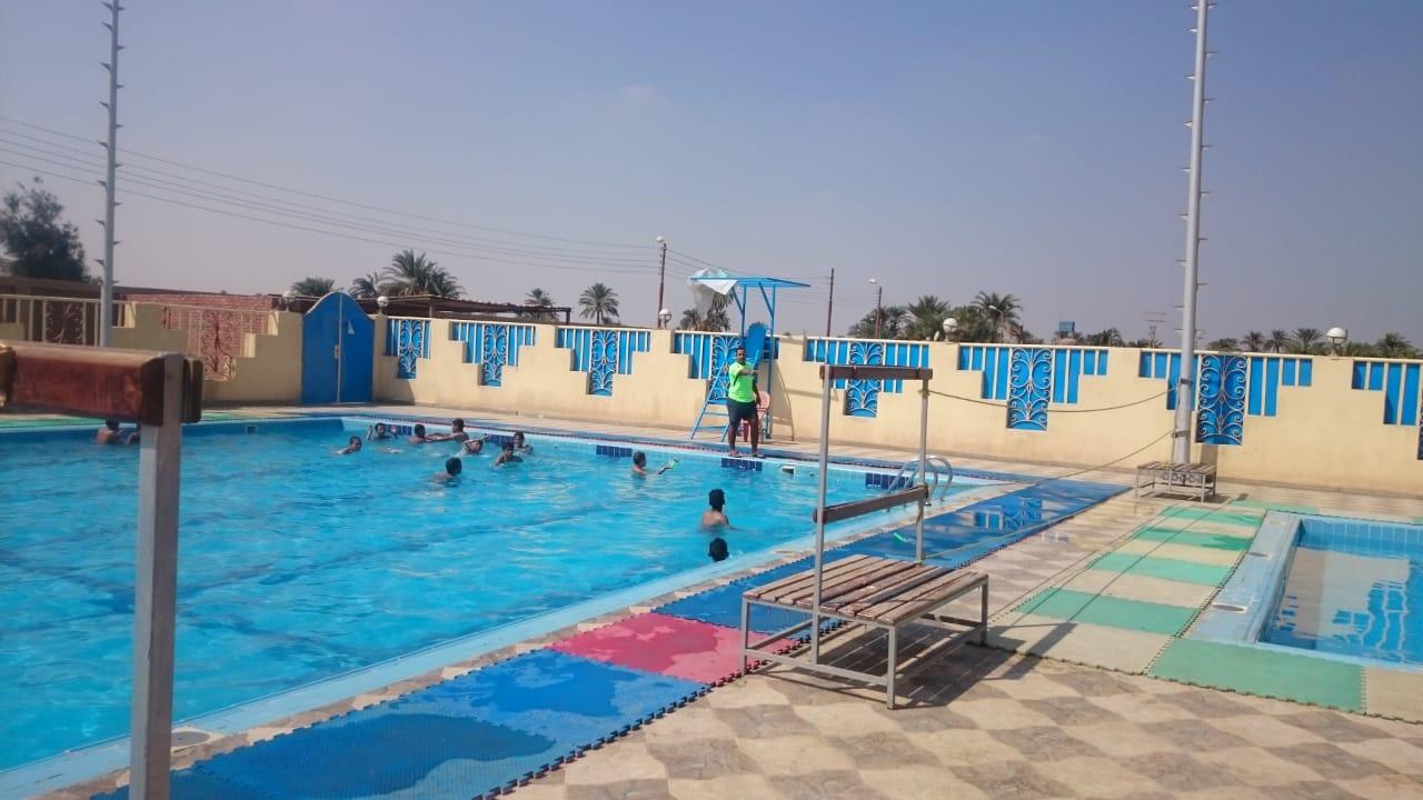 حمامات السباحة ببنى سويف