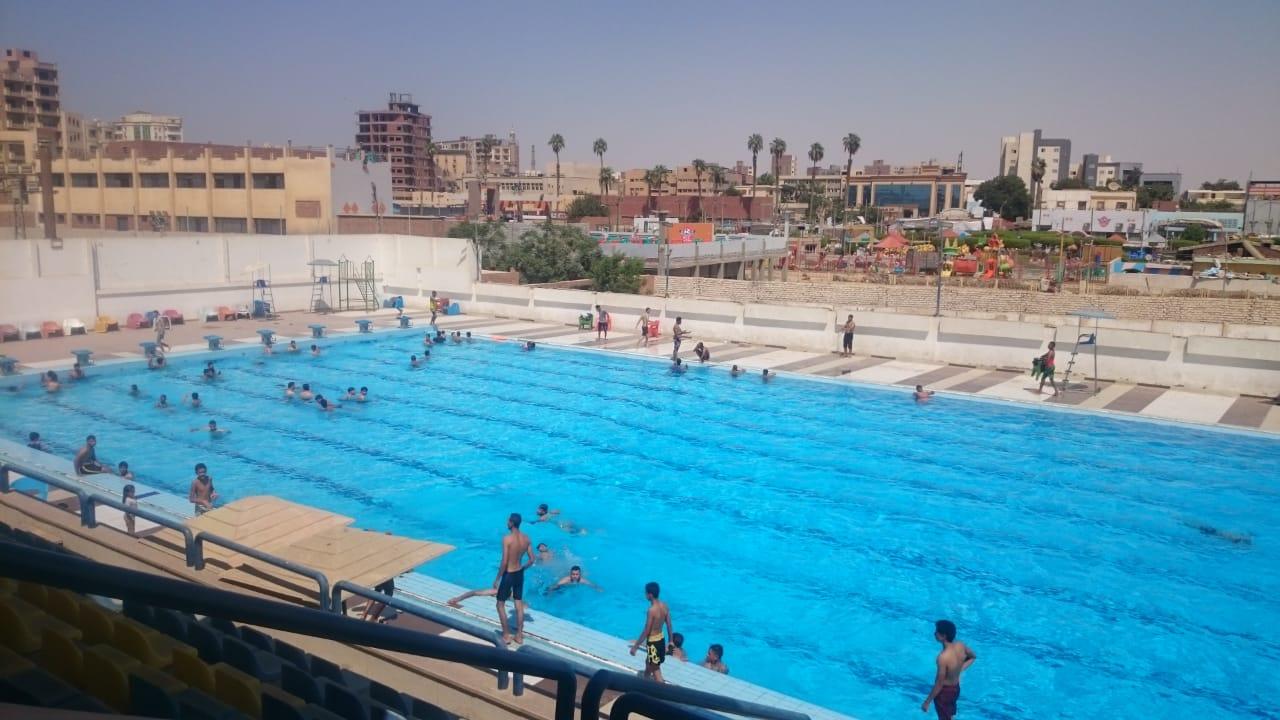 حمام سباحة بمركز شباب