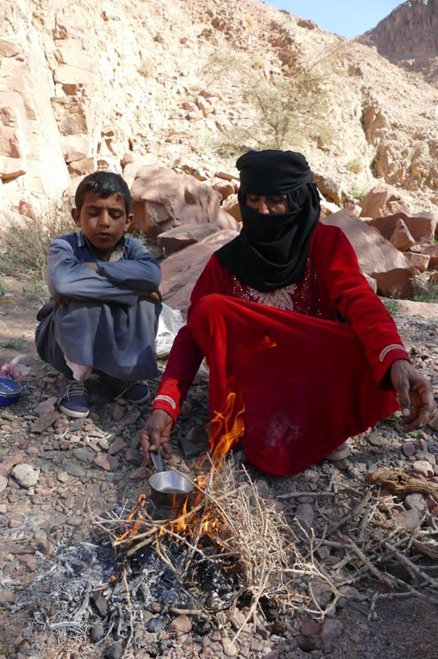 المرأة البدوية مرشد سياحى