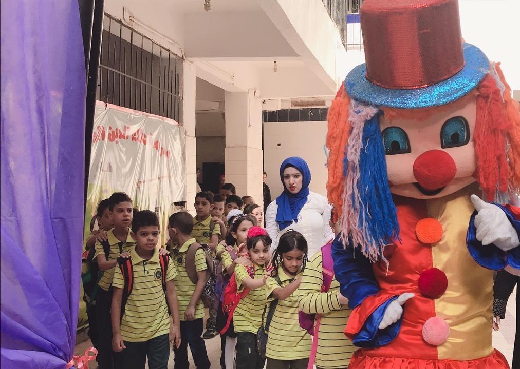 أول يوم مدرسة اولياء  (2)