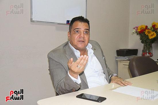 محمد زاهر رئيس لجنة التعدين يتحدث لـاليوم السابع (7)