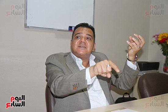 محمد زاهر رئيس لجنة التعدين يتحدث لـاليوم السابع (3)