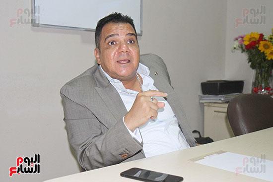 محمد زاهر رئيس لجنة التعدين يتحدث لـاليوم السابع (5)