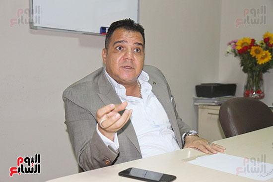 محمد زاهر رئيس لجنة التعدين يتحدث لـاليوم السابع (6)