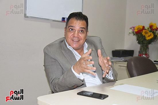 محمد زاهر رئيس لجنة التعدين يتحدث لـاليوم السابع (10)