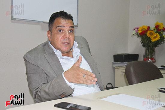 محمد زاهر رئيس لجنة التعدين يتحدث لـاليوم السابع (4)