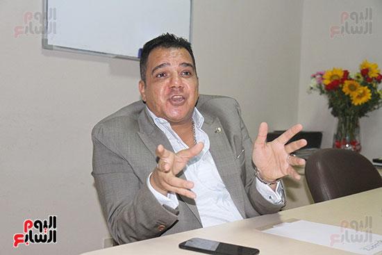 محمد زاهر رئيس لجنة التعدين يتحدث لـاليوم السابع (9)